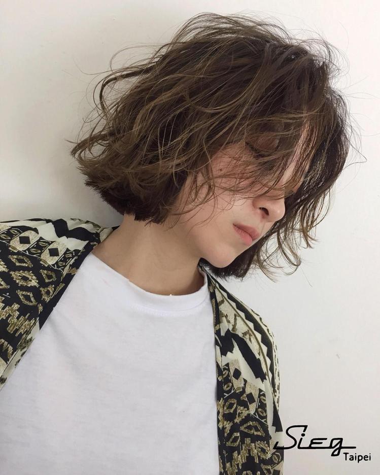髮型創作/Sieg_Angela。圖/StyleMap提供
