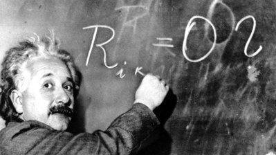 圖為愛因斯坦1931年檔案照。美聯社