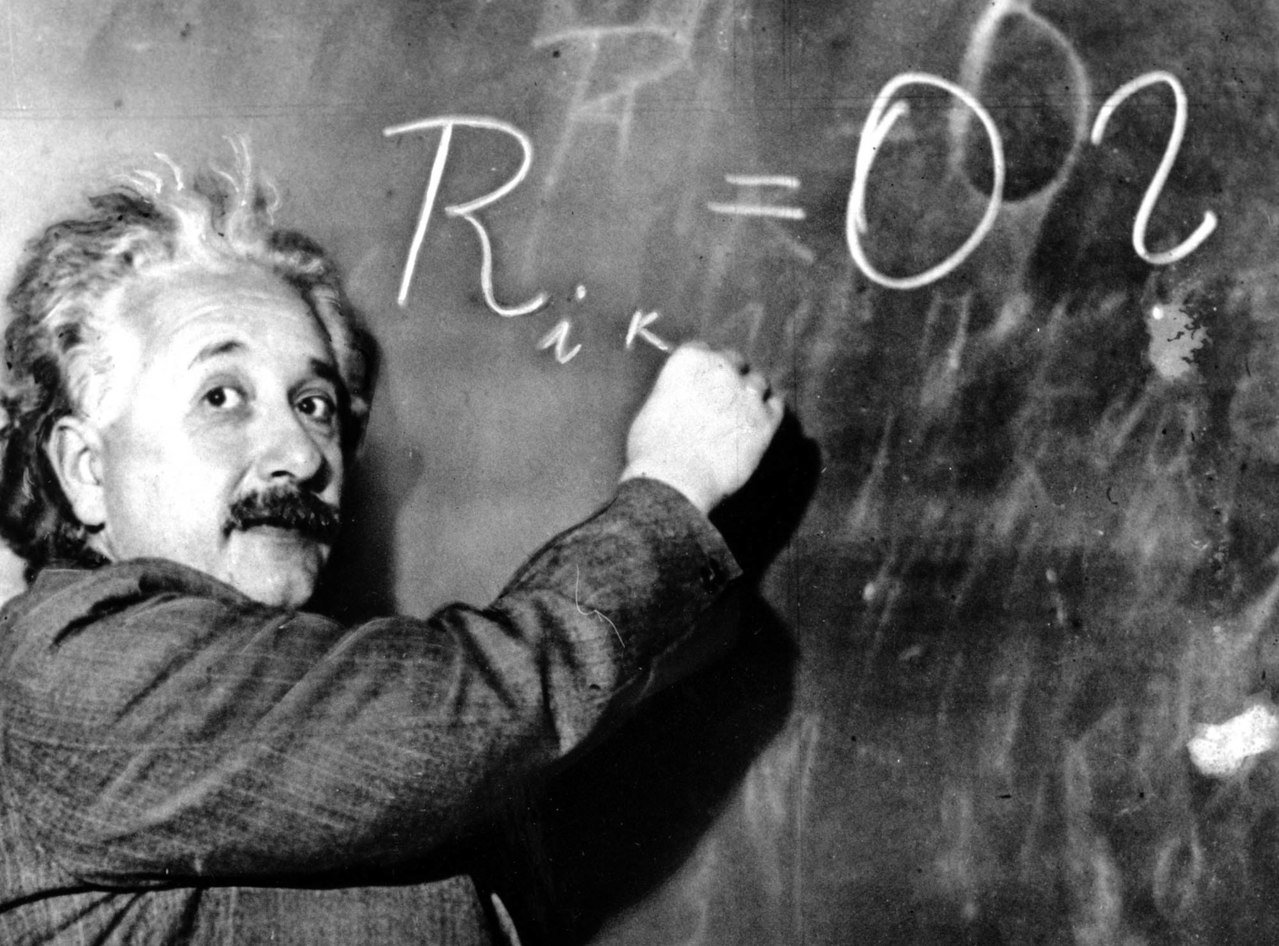 印度科學大會今(2019)年大批牛頓、愛因斯坦(圖)的理論錯誤,遭外界批評荒謬。...