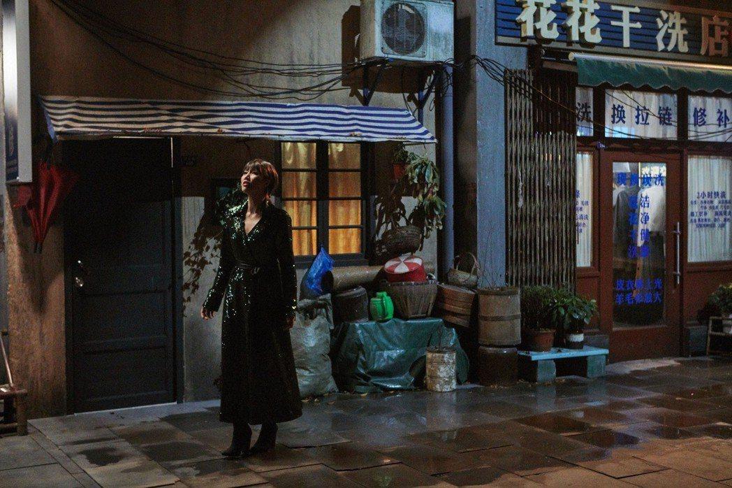 A-Lin應邀錄製大陸節目「幻樂之城」。圖/索尼音樂提供