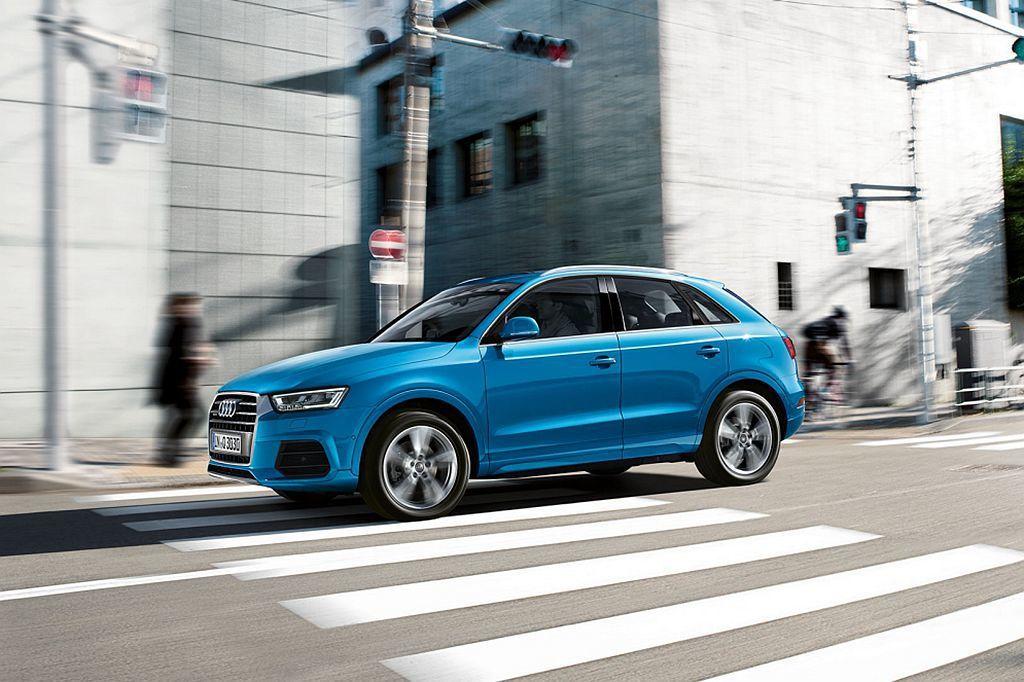 Audi Q3將Audi Hold Assist主動駐車輔助系統列為標配。圖/A...