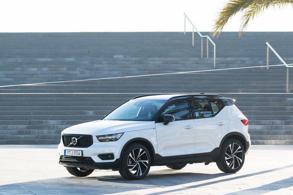 Volvo XC40光是標配的安全防護科技系統項目,就能讓同級對手汗顏。圖/Vo...