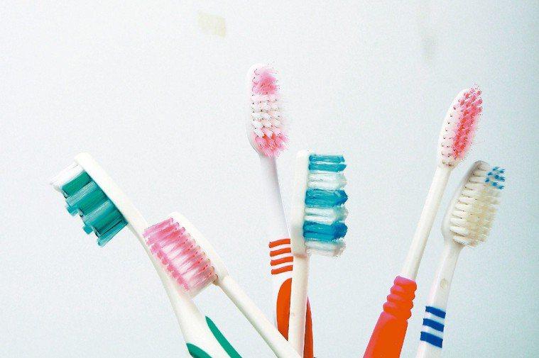 牙刷示意圖。 圖/聯合報系資料照片