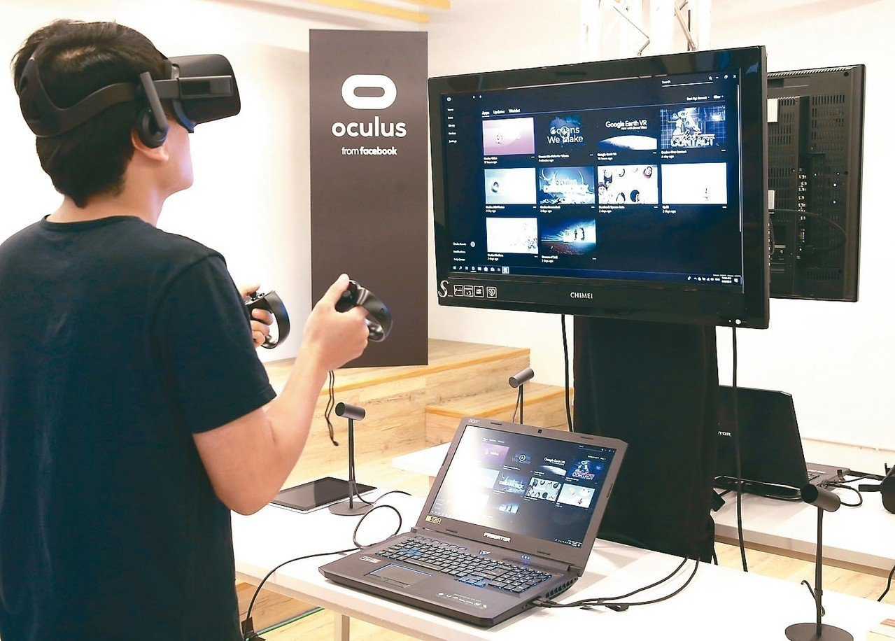 Facebook首度在台推動Oculus教育計畫,積極培育在地VR科技人才;圖為...
