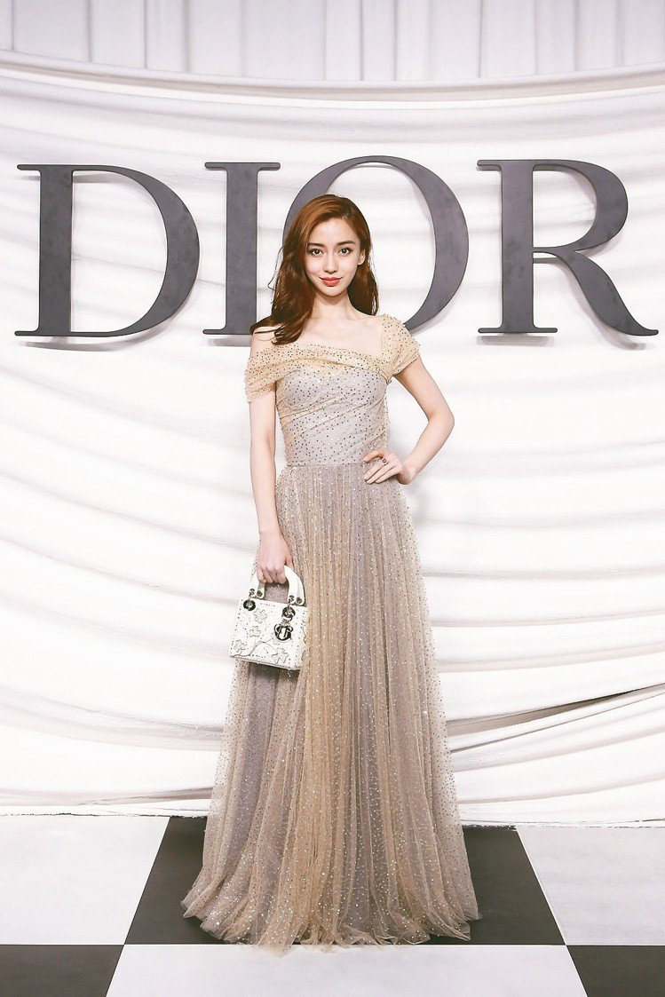 Angelababy是Dior大陸區的品牌大使圖/迪奧提供