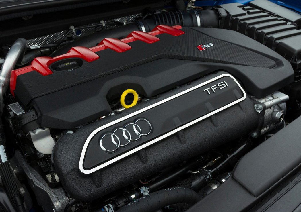 Audi 2.5 TFSI 引擎為了WLTP必須做出調整。 摘自 Audi