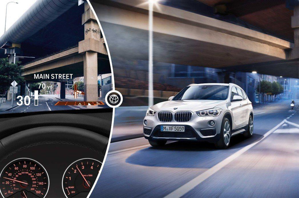 2019年式BMW X1領航版標準配備BMW全觸控智能衛星導航、旅程諮詢秘書服務...