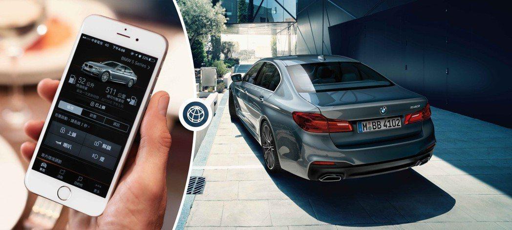 2019年式BMW標準配備智能遠端遙控功能,只要下載BMW Connected ...