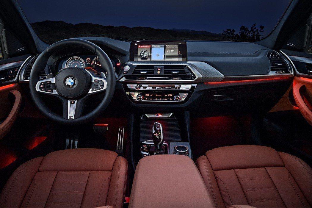BMW導入人性化高科技駕駛座艙。 圖/汎德提供