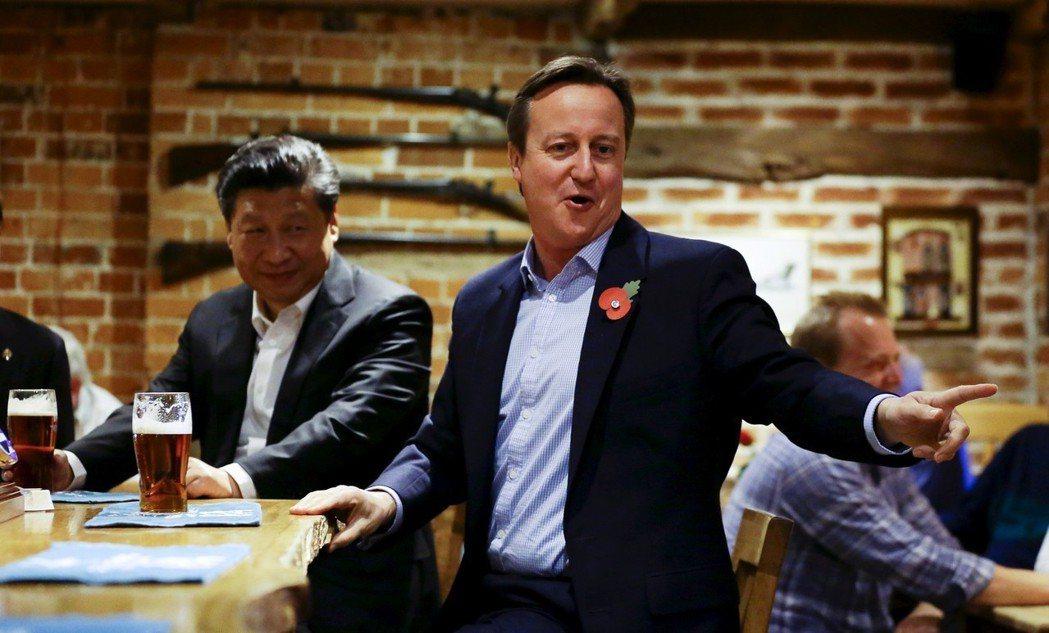 從英國前首相卡麥隆(David Cameron)任內開始,英國就一直積極向中國招...