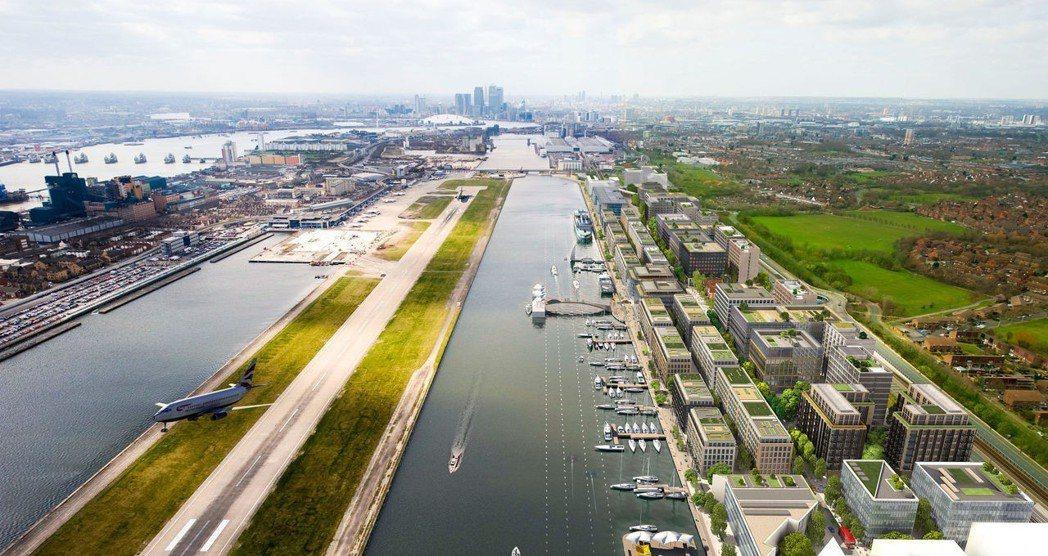 與中國「一帶一路」有關的「皇家阿爾伯特碼頭」開發案(Royal Albert D...
