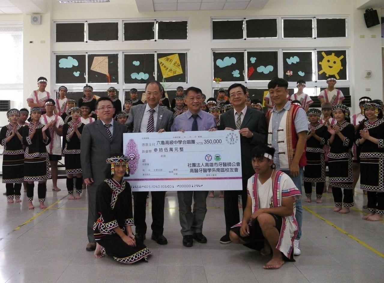 高市六龜高中合唱團成績優異,去年曾受邀到日本演出。圖/本報資料照