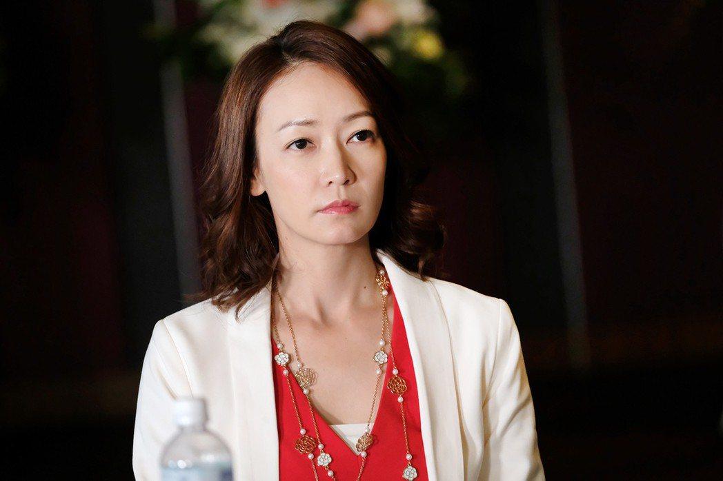 潘慧如飾演女強人。圖/TVBS提供