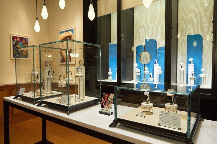 伯爵將於9月1日起至10月30日止巡迴專賣店舉辦「珠寶表后」時光風華展,帶來品牌...