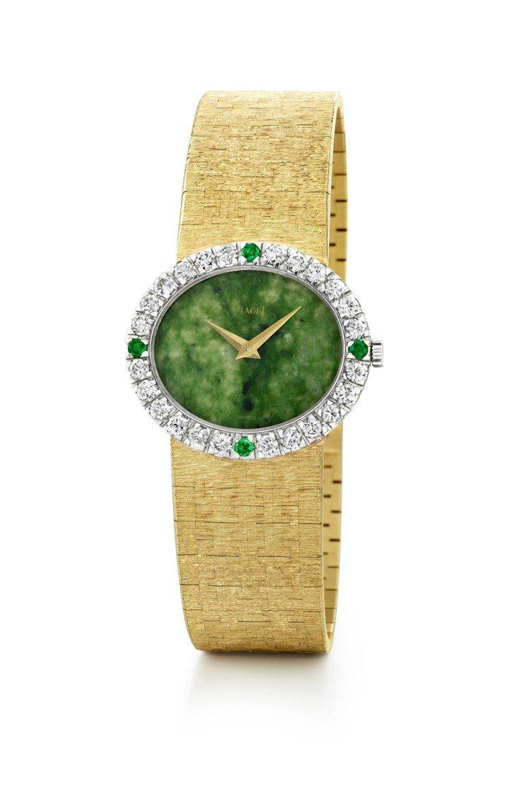 賈桂琳甘迺迪收生前曾經收藏的伯爵骨董珠寶腕表,1996年由伯爵於拍賣會上購回,今...
