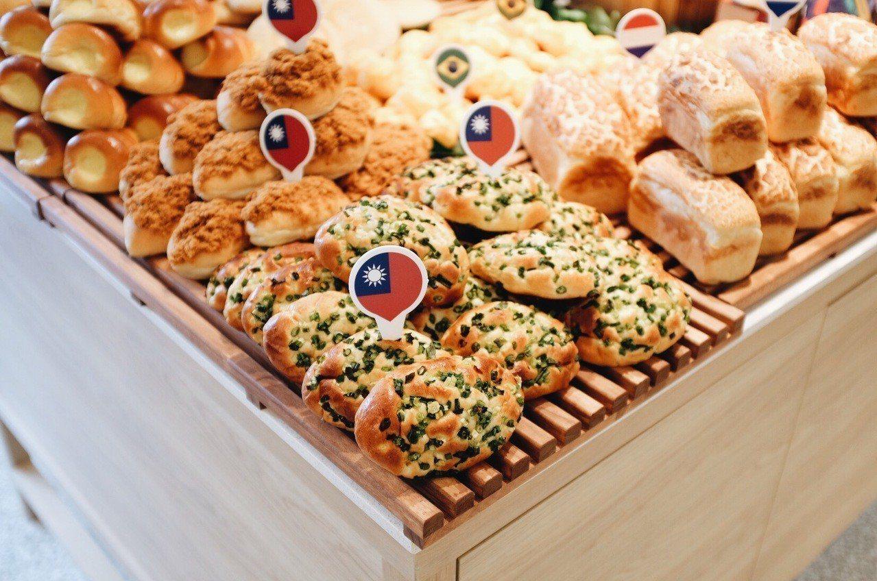 吳寶春師傅對蔥花麵包情有獨鍾,擁有許多學徒時期的回憶。記者沈佩臻/攝影