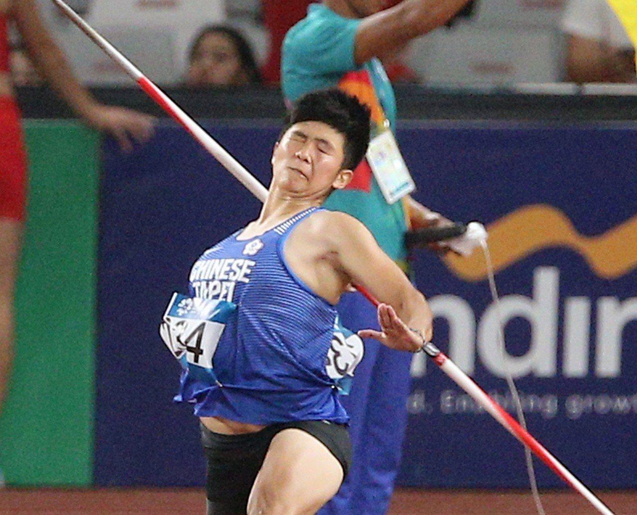 李慧君的亞運初體驗在女子標槍決賽排名第五