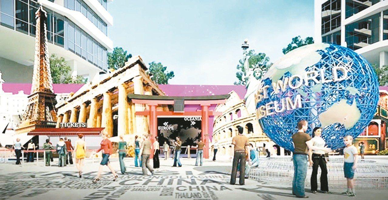 即將開幕的Capital 21世界廣場,將會是新山最大的購物中心。 圖/馬來西亞...