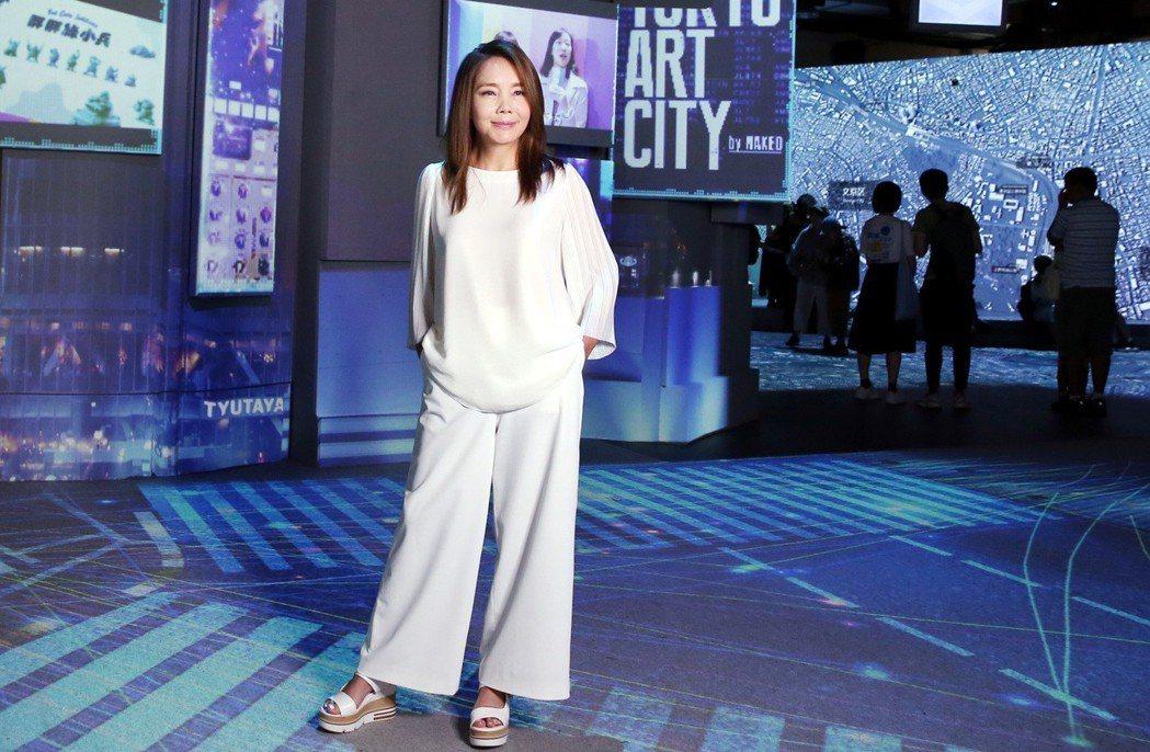 辛曉琪「人生若只如初見」演唱會,邀請在日本結合藝術、科技創造出絢爛光影特效的Na...
