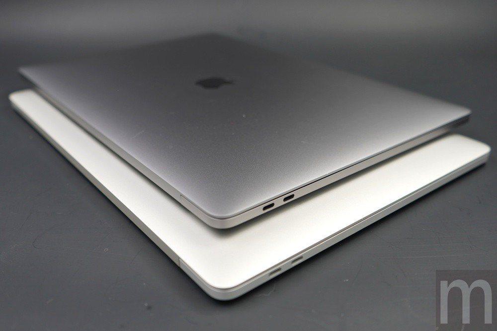 與2016年款MacBook Pro (下)比較