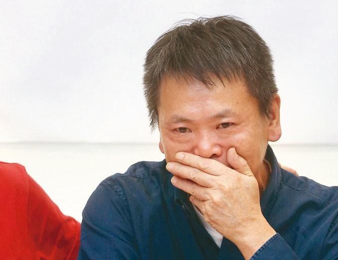 國民黨立法院黨團上午舉行「團結,從新竹起」記者會,林為洲(見圖)在會中宣布退出新...