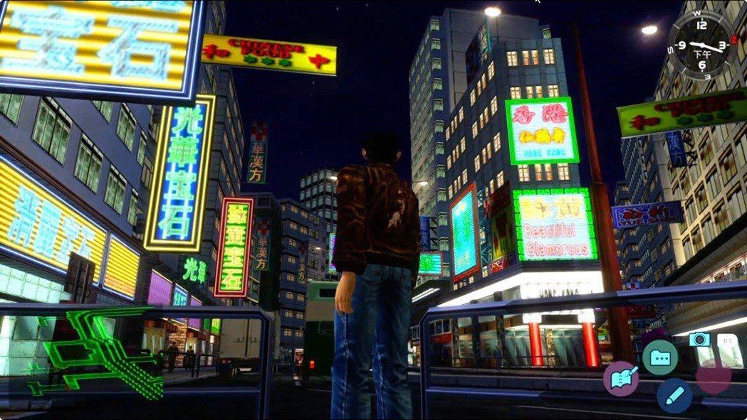 小虎最喜歡2代裡的這個地方「詠黃街」,尤其是在晚上的時候,看著霓虹燈與車水馬龍,...
