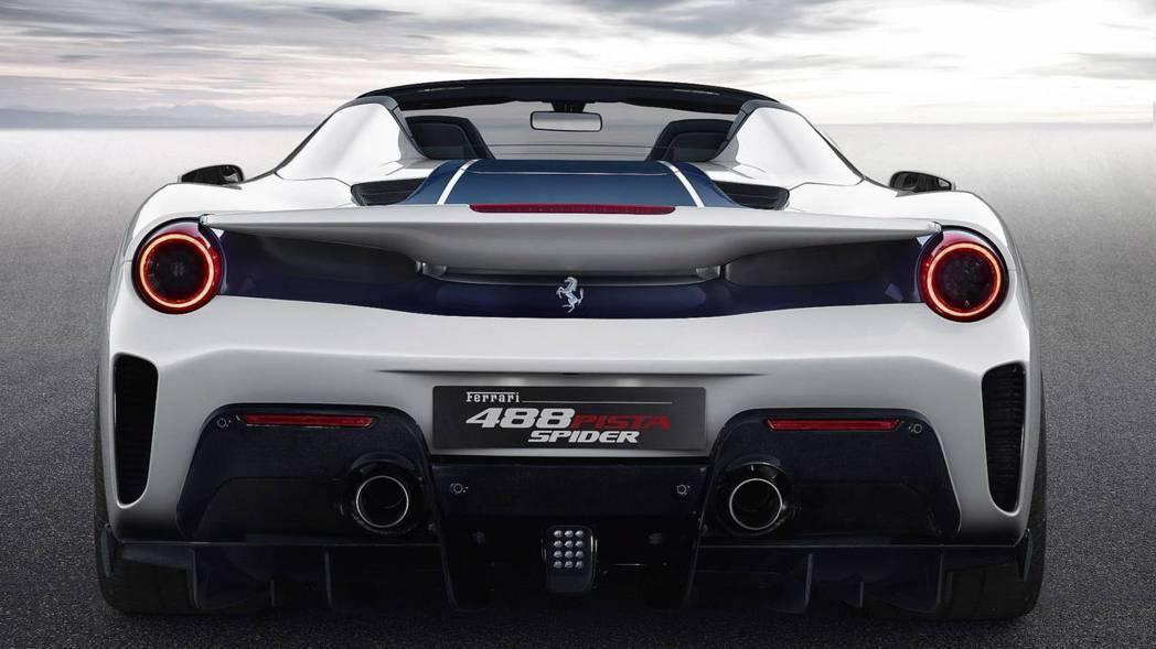 Ferrari 488 Pista Spider的售價與配額目前還是個未知數。 ...