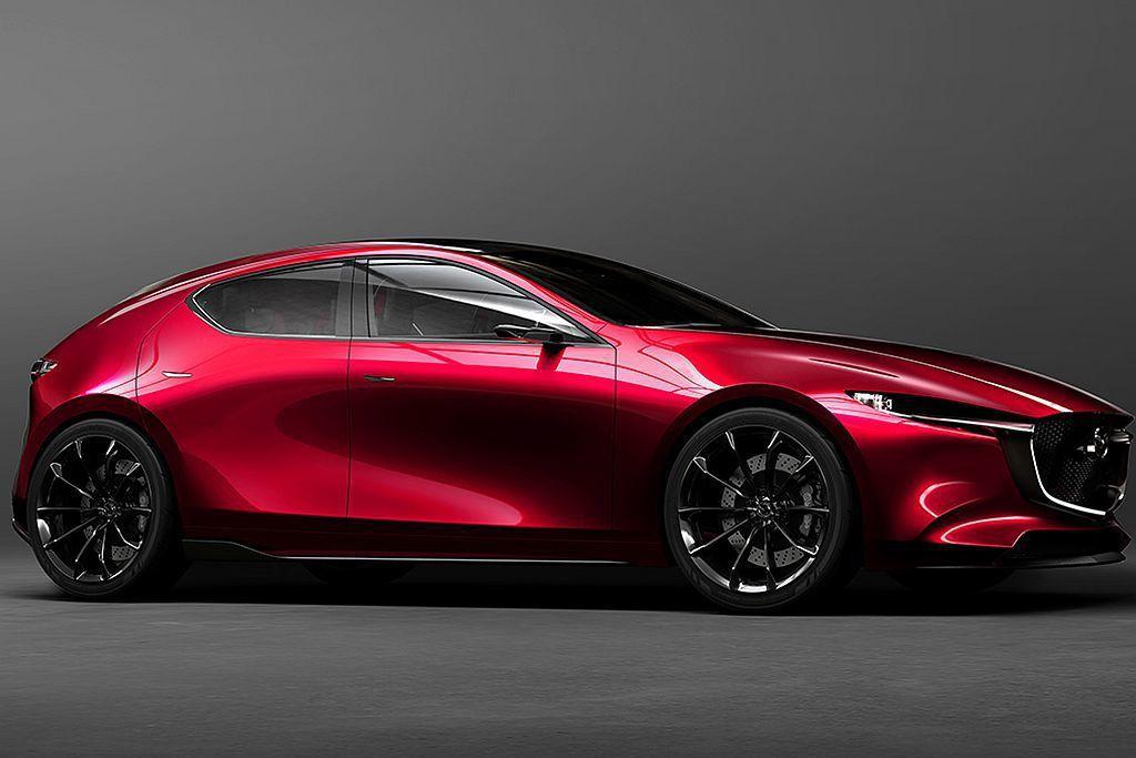 眾所期待的新世代Mazda3消息越來越明朗,年底前公開亮相看來是不會有懸念。 圖...