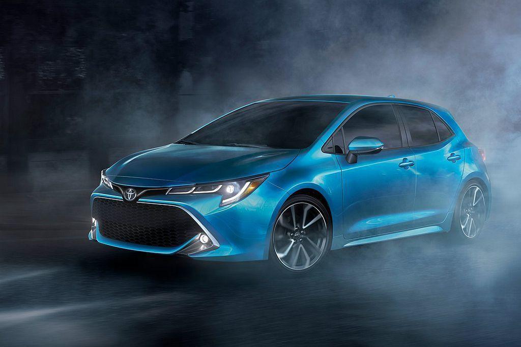 全新Toyota Auris銷售對手直指Mazda3而來,不過兩車目前並非是相同...