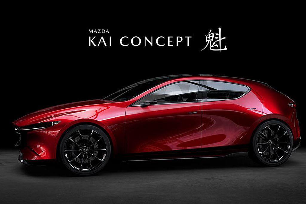 去年日本東京車展發表的Mazda 魁 Concept概念車,似乎就是在預告全新M...