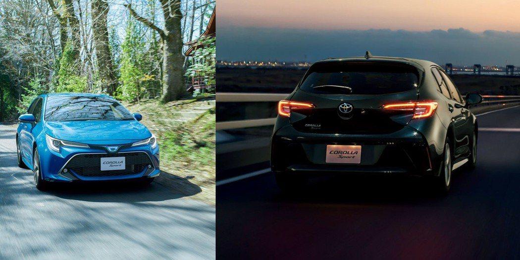 歐規Auris將跟隨美規與日規車型,正名為Toyota Corolla。圖為日規...