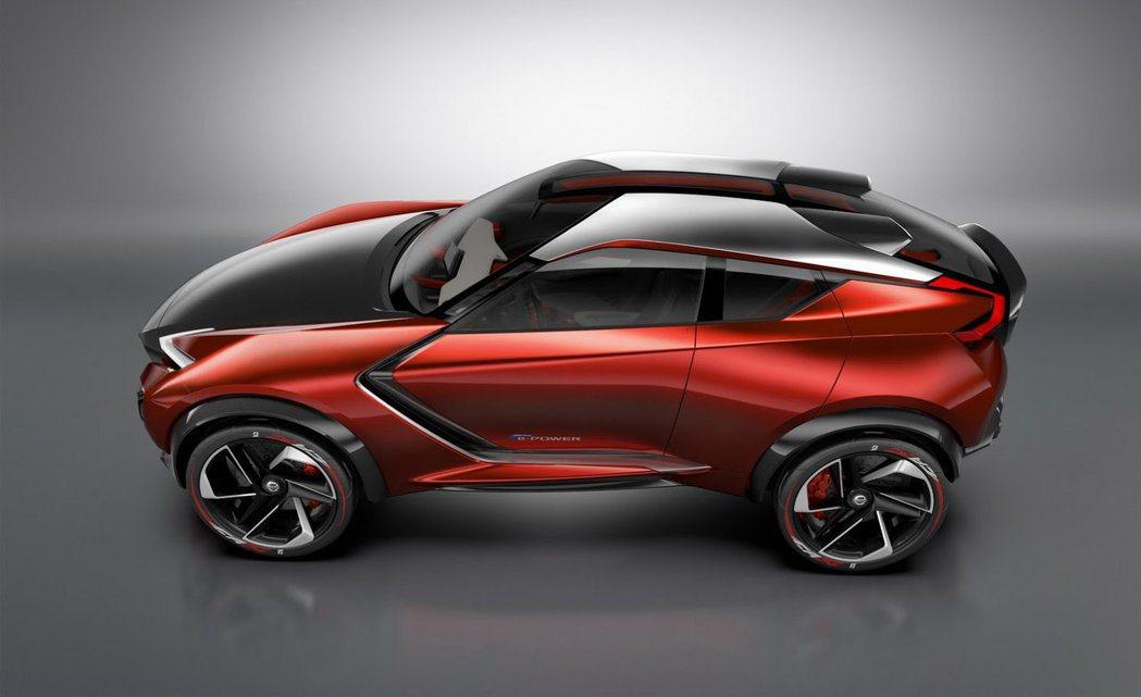 2015 Nissan Gripz Concept概念車。 摘自Nissan