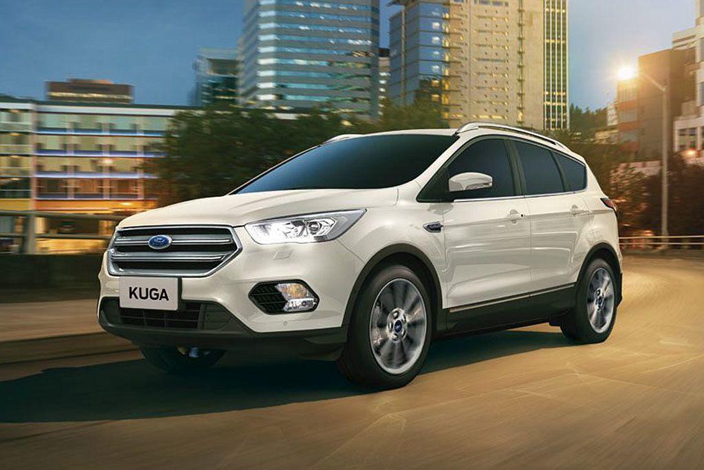 2016年底推出的小改款福特Kuga,其SYNC 3車載系統就具備語音助理功能。 圖/Ford提供