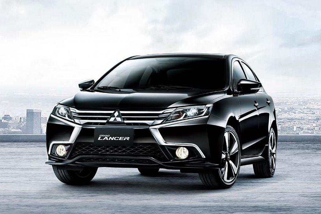 國內家庭房車銷售長青樹三菱Grand Lancer,內裝科技亦為新車改款重點項目...
