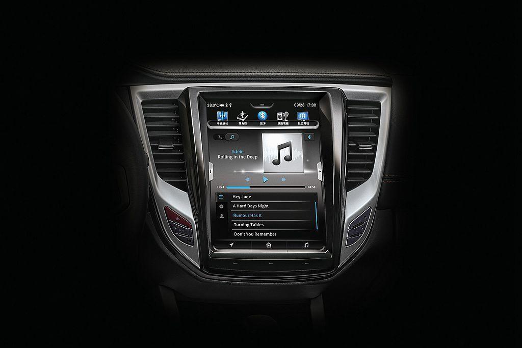 車內數位助理-IVY讓使用者透過語音指令,即可進行空調設定、多媒體與藍芽、音量調...
