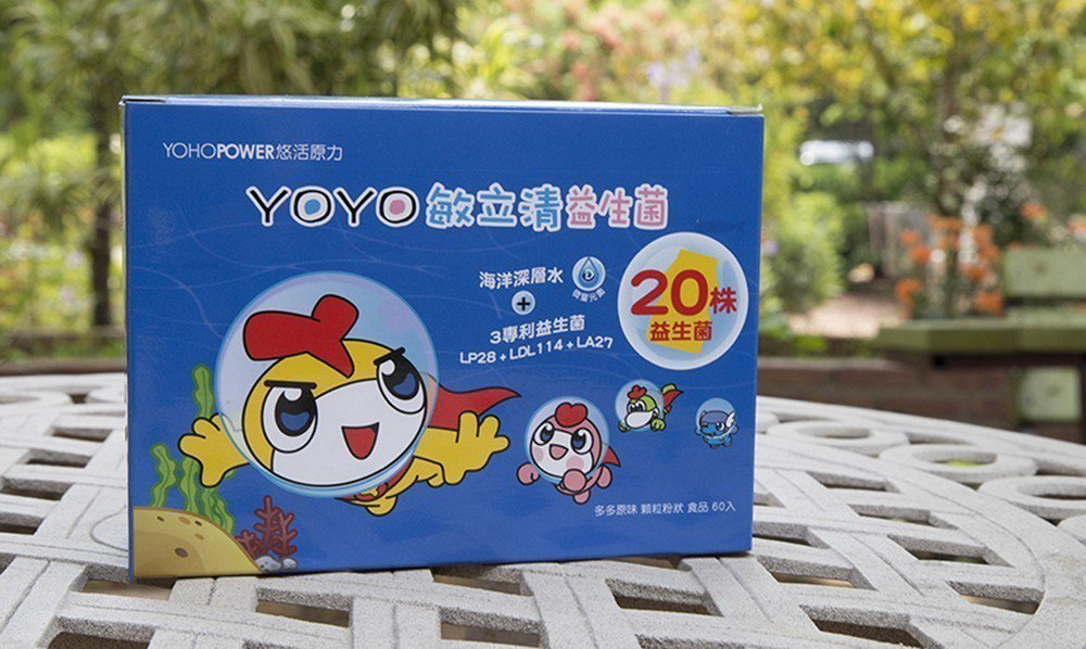 YOYO敏立清益生菌(多多原味)一推出便深受爸媽喜歡。 悠活原力-好菌銀行/提供
