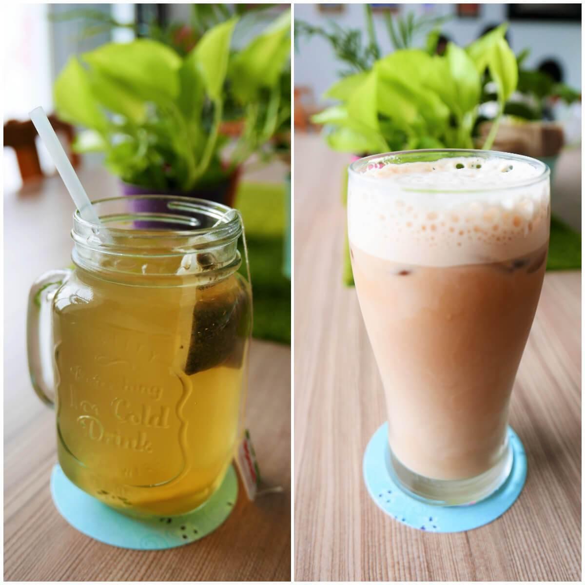 圖/Lemon、芷瑄(阿根廷瑪黛茶NT$65/鴛鴦鮮奶茶NT$70)