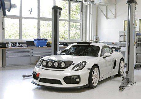 Porsche Cayman GT4 Clubsport Rallye概念車可望生產?