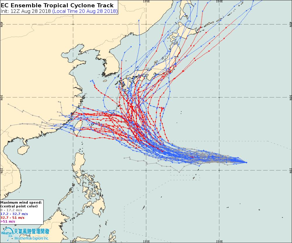 氣象達人彭啟明說,第21號颱風燕子縱使颱風不來台灣,但外圍環流如何牽動台灣附近的...