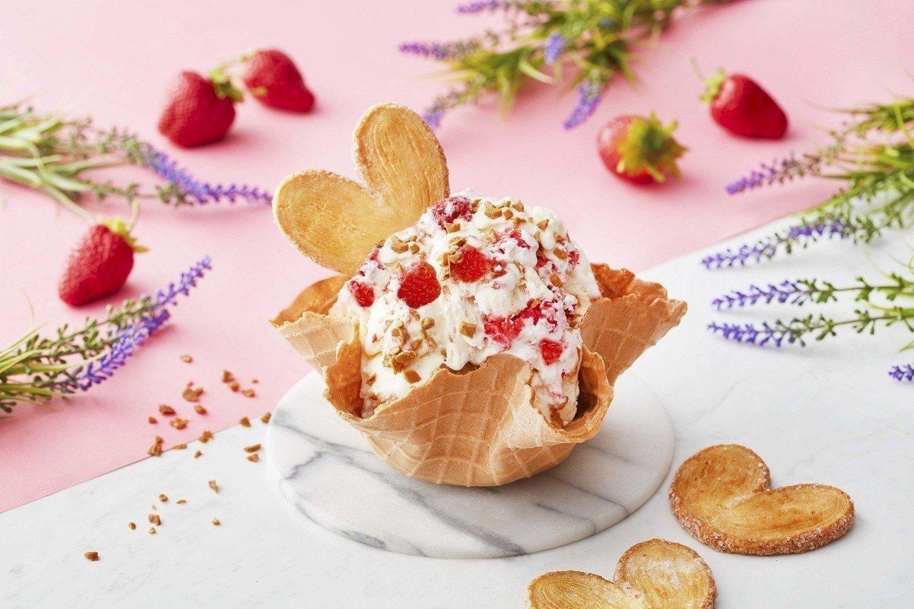 玫莓有約,每份140元至240元(不含脆餅)。圖/COLD STONE提供