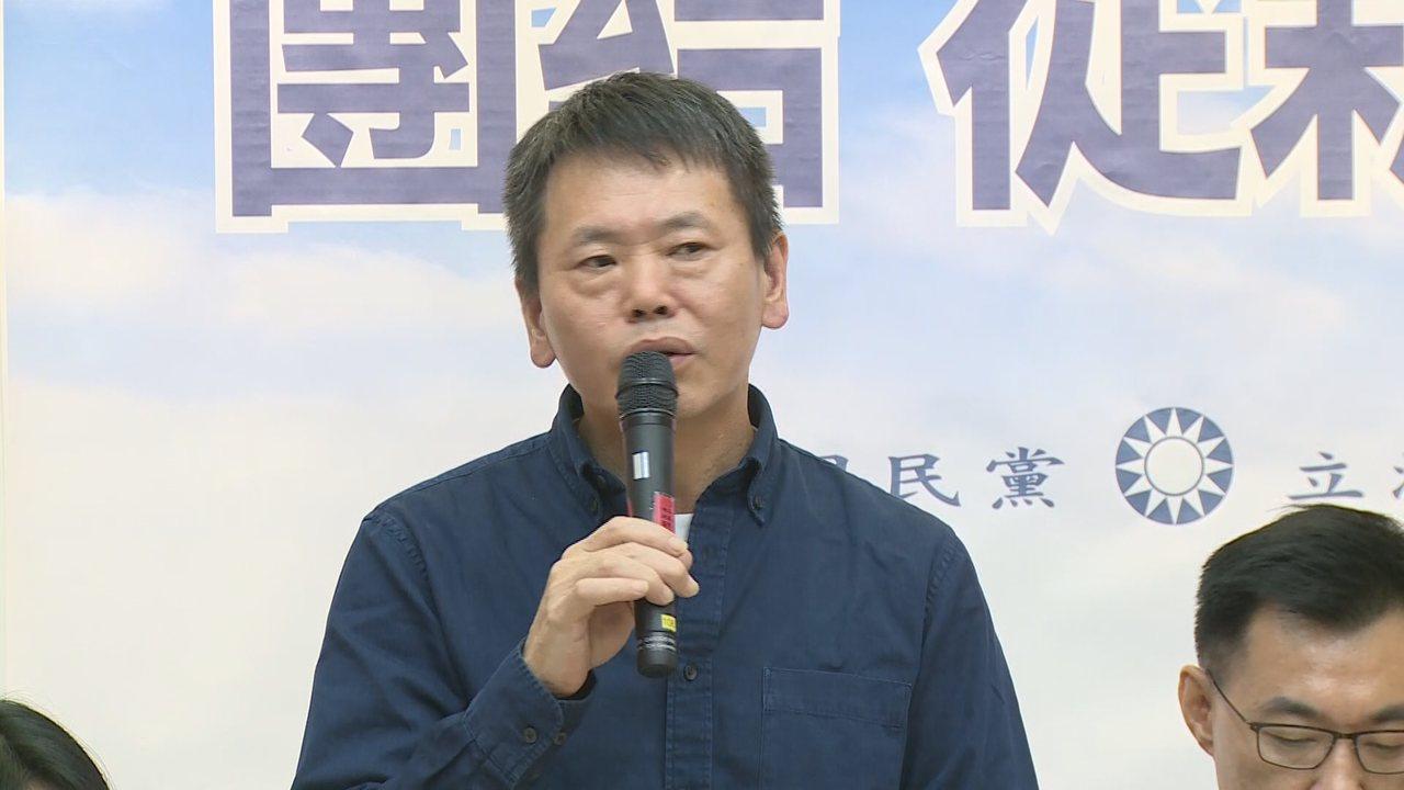 立委林為洲今天(29日)宣布退出新竹縣長選戰,繼續留在國民黨立院黨團,做一個改革...