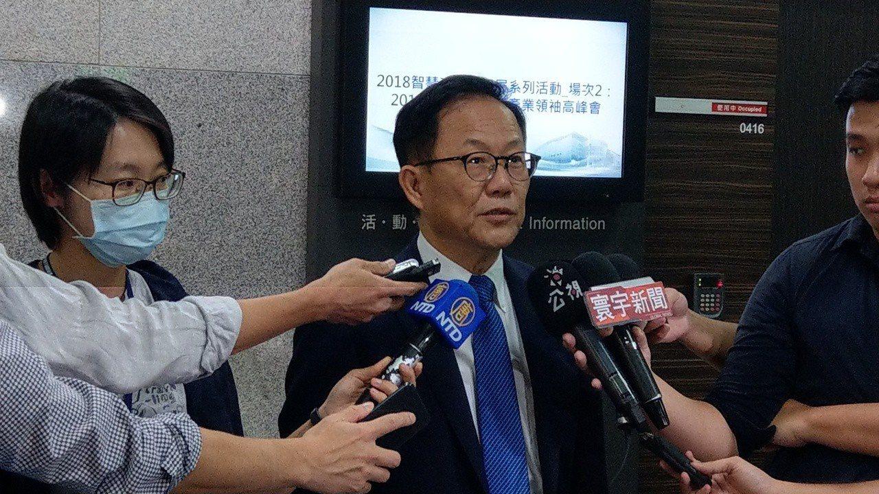 國民黨台北市長候選人丁守中。記者楊正海/攝影