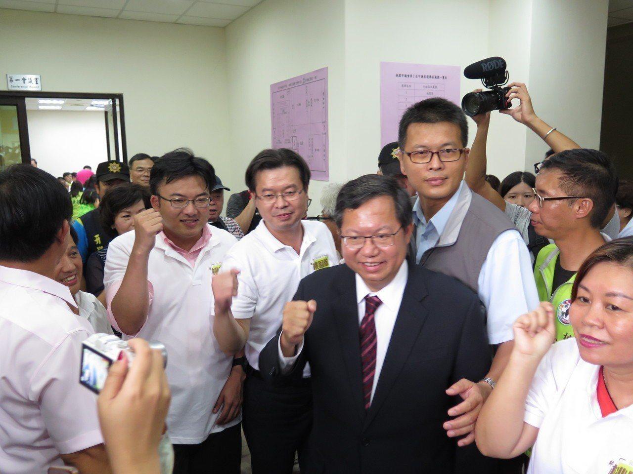 桃園市長鄭文燦。聯合報系記者張裕珍/攝影