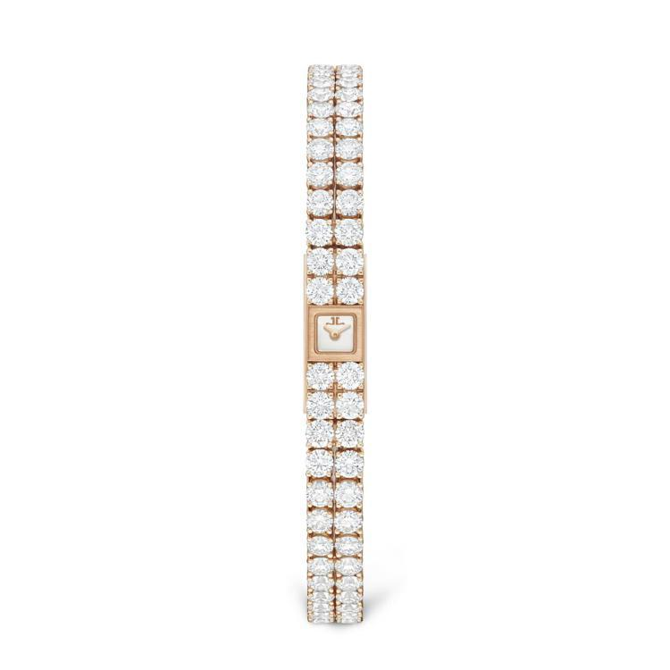Joaillerie 101 Reine 珠寶腕表,18k玫瑰金鑲嵌鑽石,積家1...