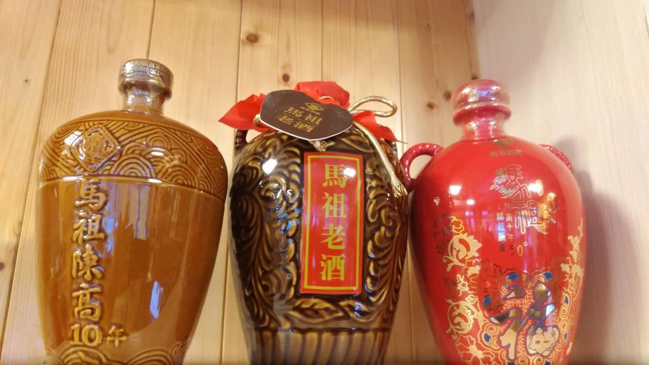蘇柏豪說,馬祖高粱是利用陳高釀,味道比高粱更好。圖/蘇柏豪提供