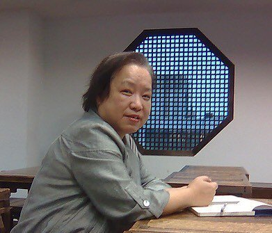 九歌總編輯陳素芳獲第42屆金鼎獎特別貢獻獎。圖╱陳素芳提供