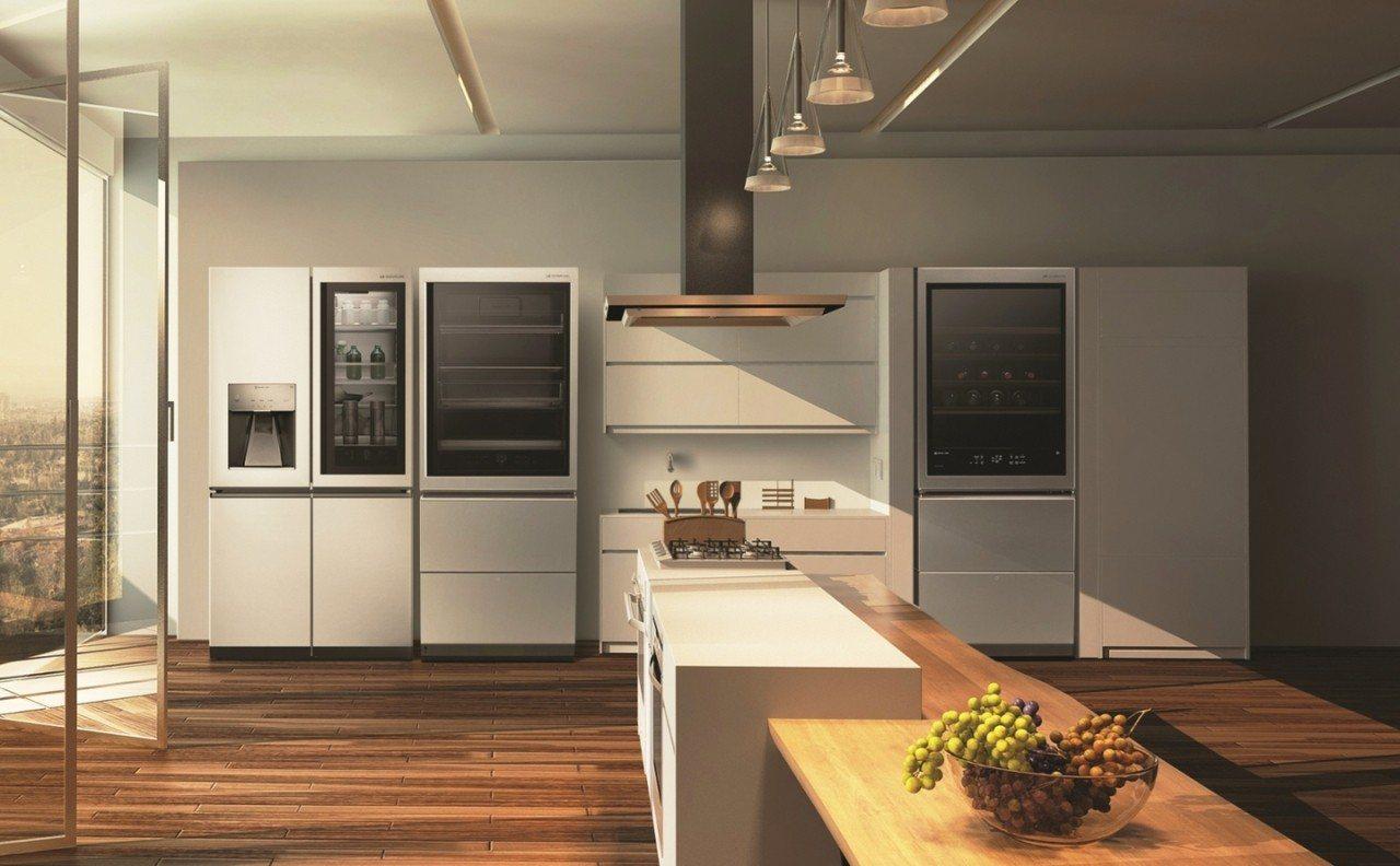 LG SIGNATURE頂級系列結合精美設計與最新科技,打造未來感十足的奢華廚房...