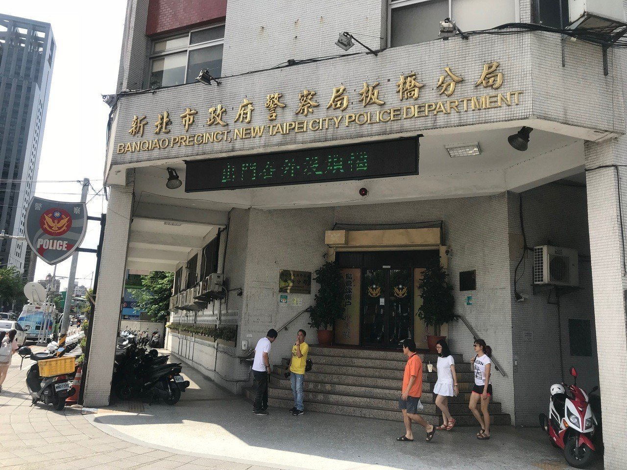 板橋分局員警粘峻碩被公務員懲戒委員會判休職一年。記者袁志豪/攝影