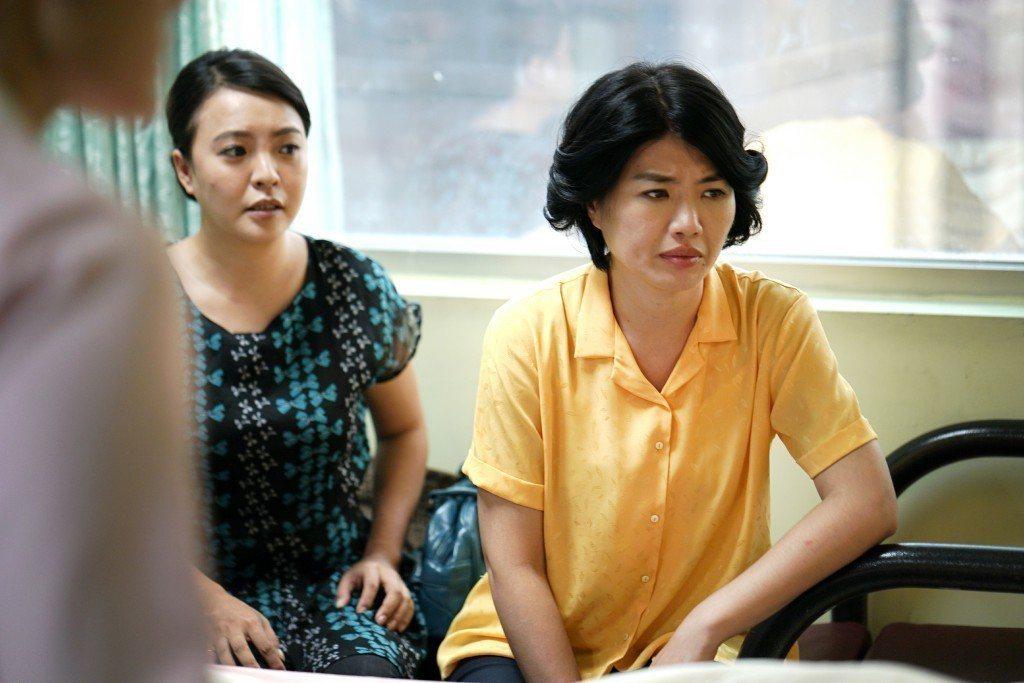 嚴藝文演出「我綿一家人」入圍金鐘連續劇女主角。圖/大愛台提供