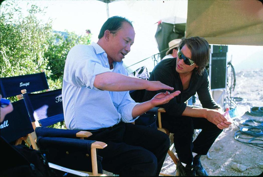 吳宇森和湯姆克魯斯一起拍片,曾經被逼到寫信回香港吐苦水。圖/摘自imdb